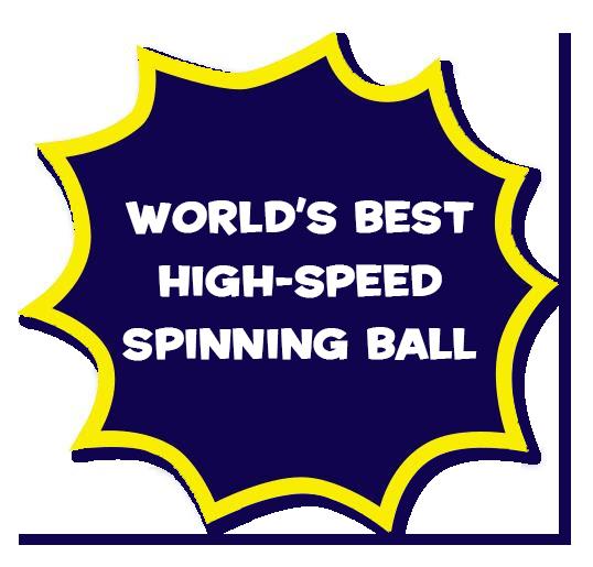 World's Best High-Speed Spinning Ball